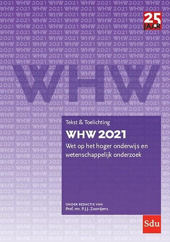 WHW 2021 Tekst en toelichting
