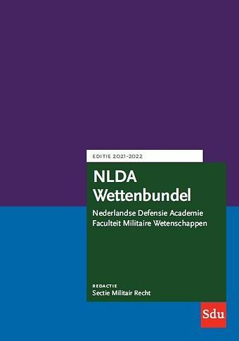 NLDA Wettenbundel Militair Recht 2021-2022
