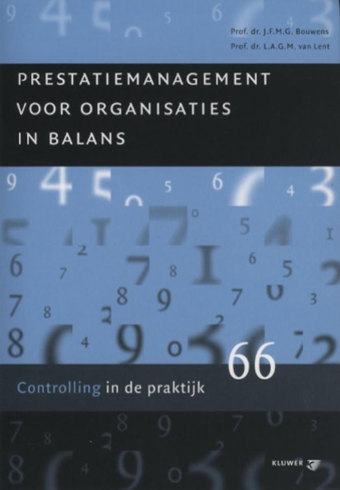Prestatiemanagement voor organisaties in balans
