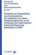 De toekomst van Goed Koopmansgebruik na de invoering van International Financial Reporting Standards in 2005