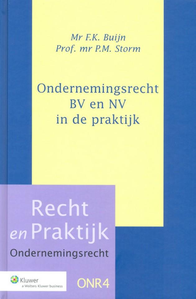 Ondernemingsrecht - BV en NV in de praktijk