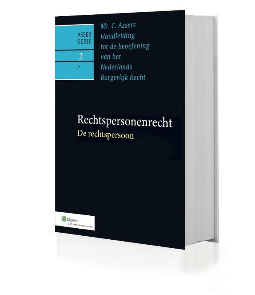 Asser 2-I* De rechtspersoon