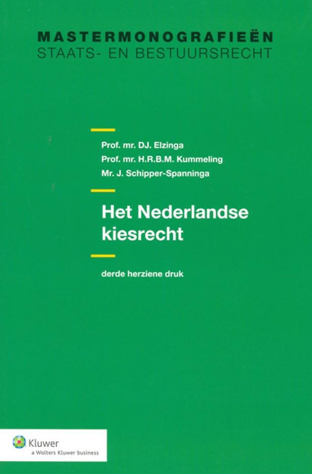 Het Nederlandse kiesrecht