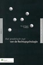 Het praktisch nut van de Rechtspsychologie