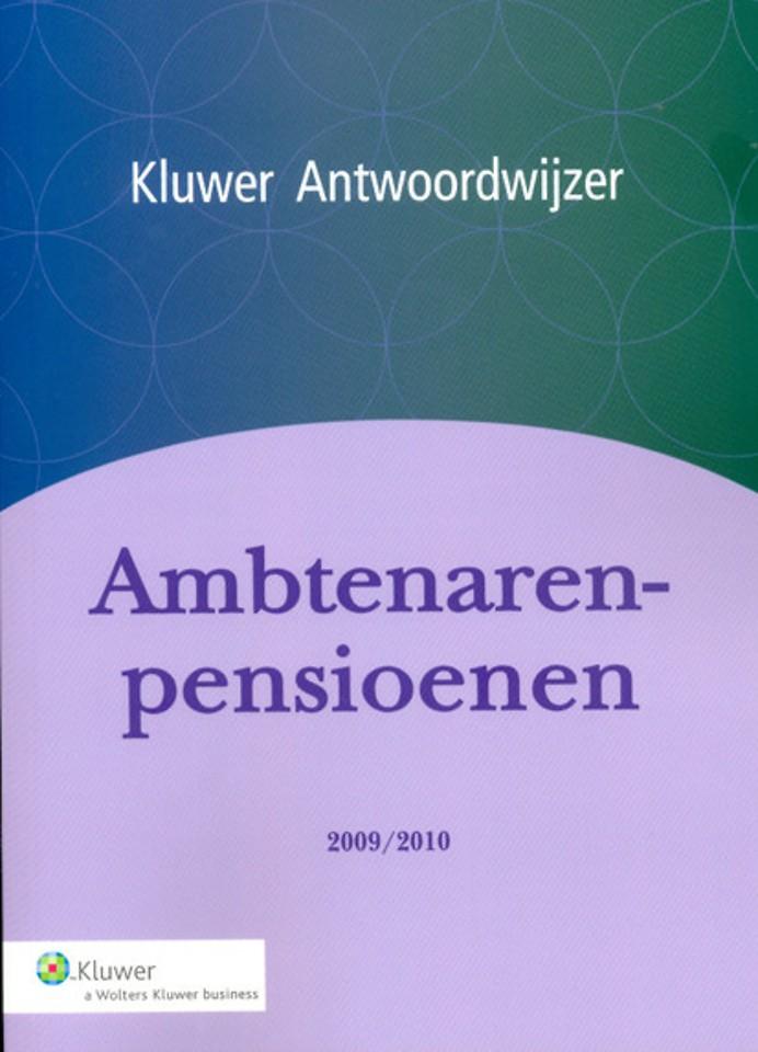Ambtenarenpensioenen 2009/2010