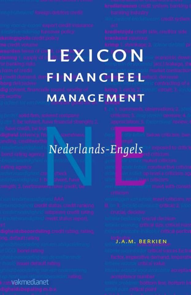 Lexicon Financieel Management Nederlands-Engels