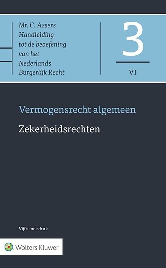 Asser 3-VI Zekerheidsrechten