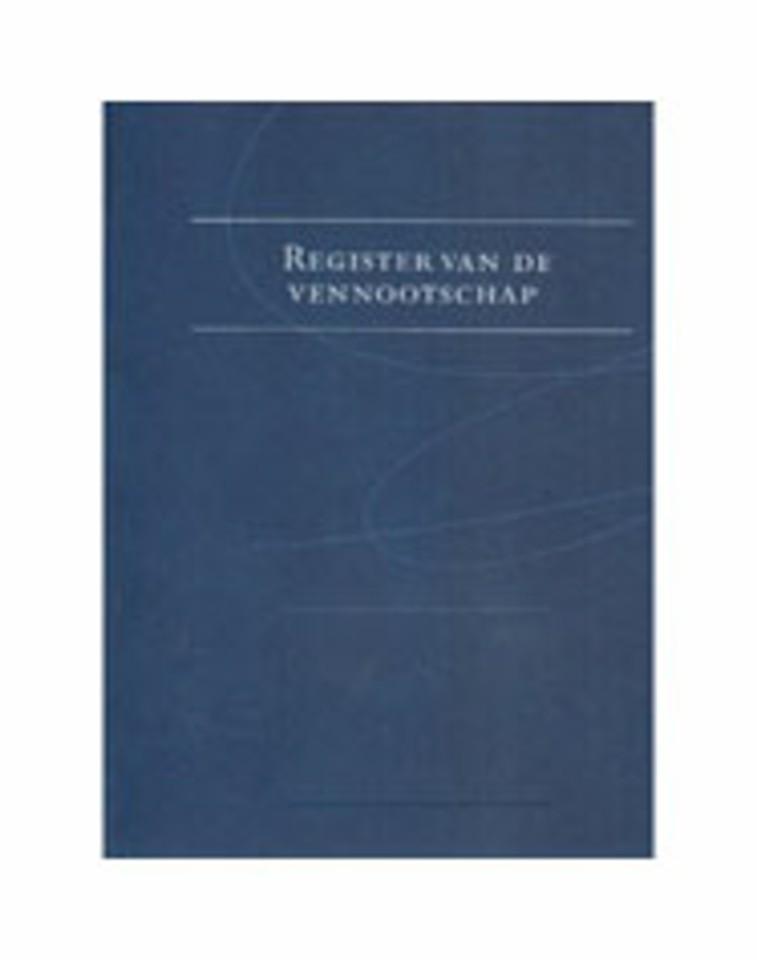Register van de Vennootschap