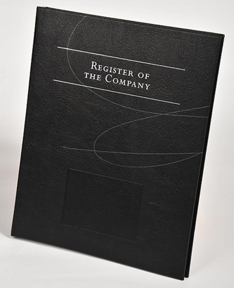 Register of the Company (reg+binder)
