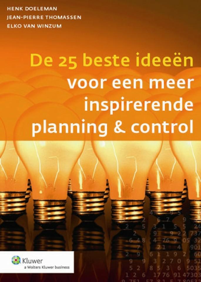 De 25 beste ideeën voor een meer inspirerende planning & control