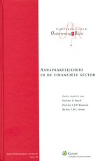 Aansprakelijkheid in de financiële sector