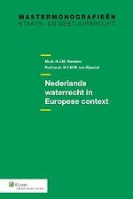 Nederlands waterrecht in Europese context