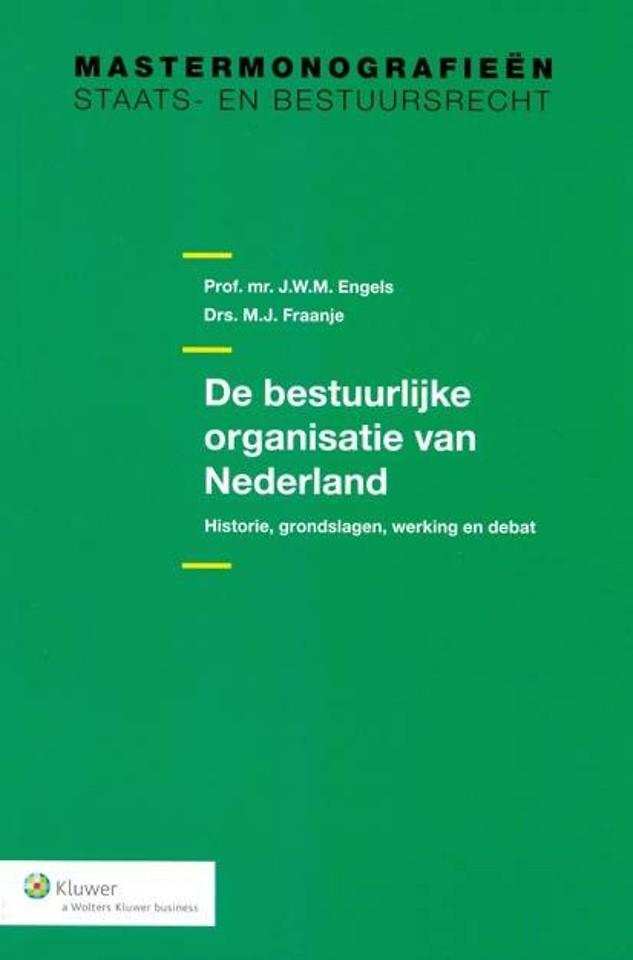 De bestuurlijke organisatie van Nederland