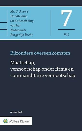 Asser 7-VII Maatschap, vennootschap onder firma en commanditaire vennootschap
