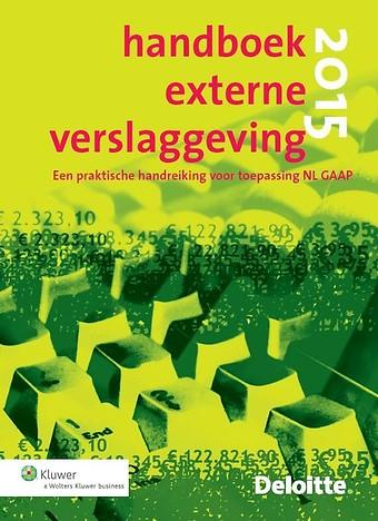 Handboek Externe Verslaggeving 2015