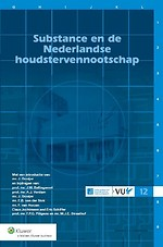 Substance en de Nederlandse houdstervennootschap