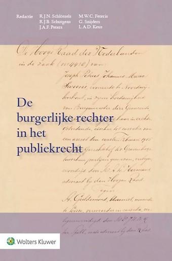 De burgerlijke rechter in het publiekrecht