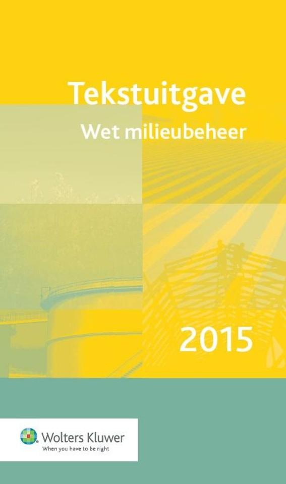 Tekstuitgave Wet milieubeheer 2015