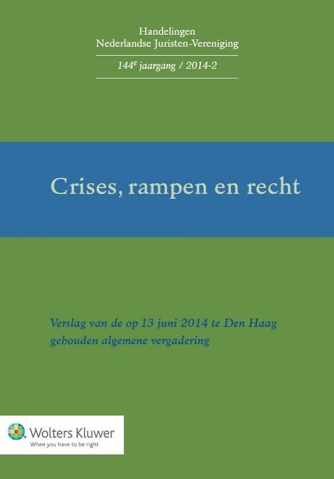Crises, rampen en recht
