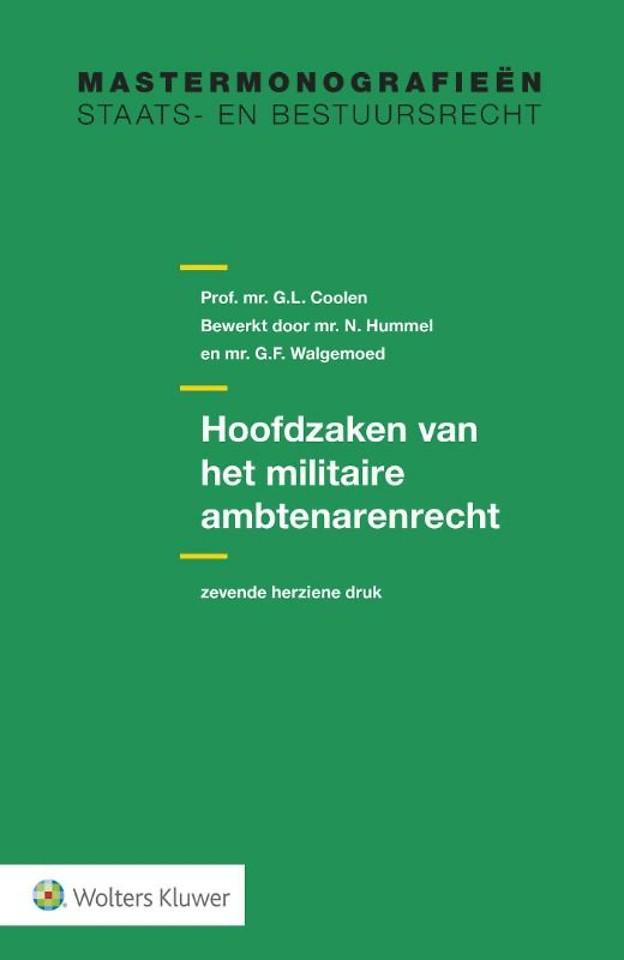 Hoofdzaken van het militaire ambtenarenrecht