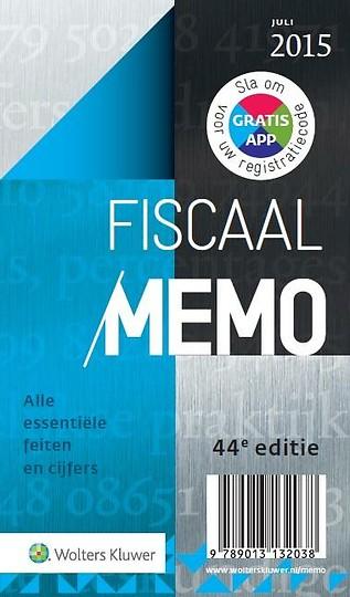 Fiscaal Memo 2015-2