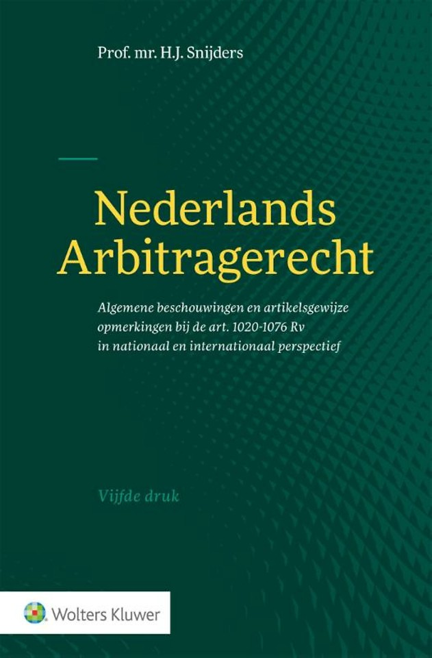 Nederlands arbitragerecht