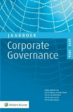 Jaarboek Corporate Governance 2015-2016