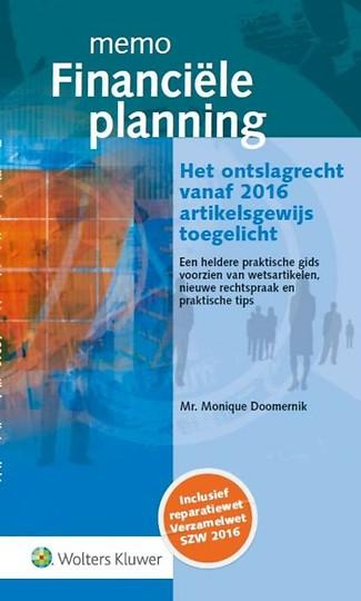 Memo Financiële planning