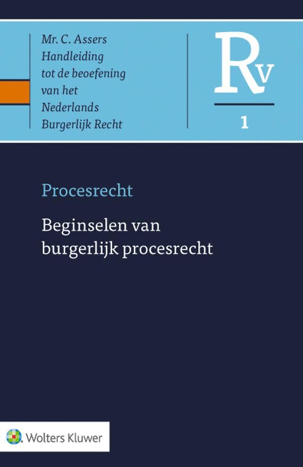 Asser Procesrecht 1 - Beginselen van burgerlijk procesrecht