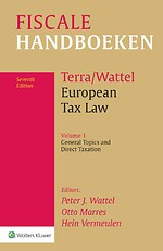 European Tax Law, Volume 1