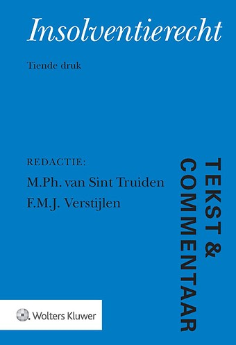 Tekst & Commentaar: Insolventierecht