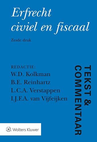 Tekst & Commentaar: Erfrecht civiel en fiscaal