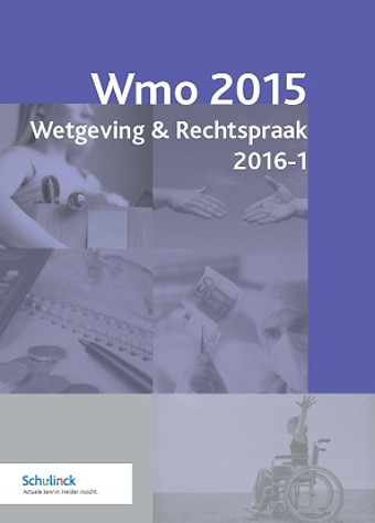 Wmo 2015 Wetgeving & Rechtspraak 2016-1