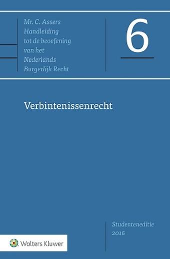 Asser 6 Verbintenissenrecht - Studenteneditie 2016