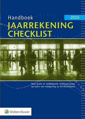 Handboek Jaarrekening Checklist 2015