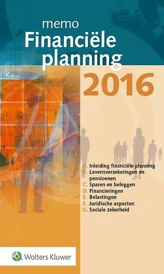 Memo Financiële planning 2016