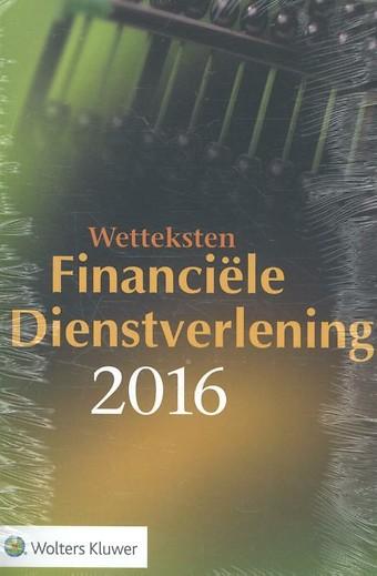 Wetteksten Financiële Dienstverlening 2016