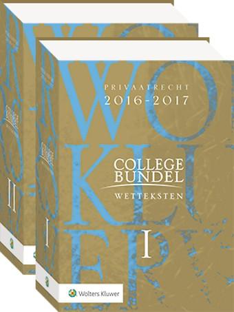 Wolters Kluwer Collegebundel 2016-2017