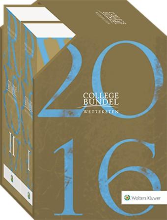 Wolters Kluwer Collegebundel Limited Edition 2016-2017