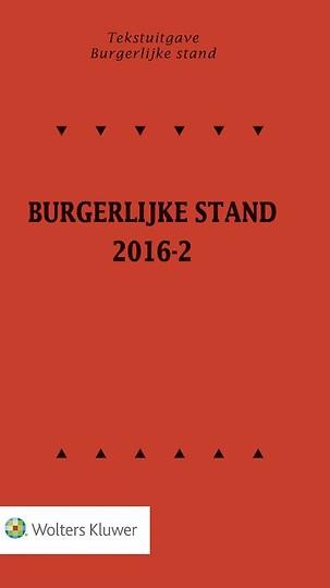 Tekstuitgave Burgerlijke Stand 2016-2