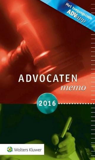 Advocatenmemo 2016