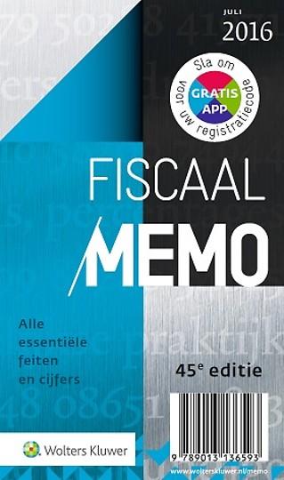 Fiscaal Memo 2016-2