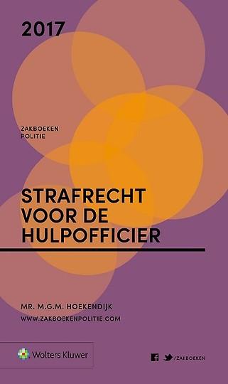 Zakboek Strafrecht voor de Hulpofficier 2017
