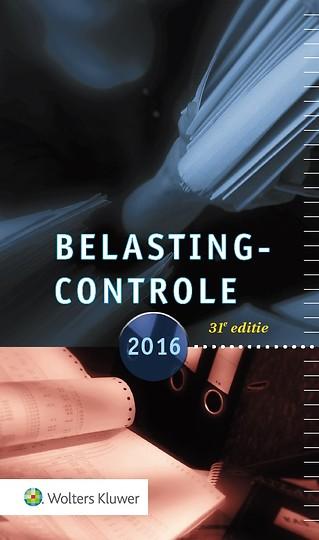 Memo Belastingcontrole 2016