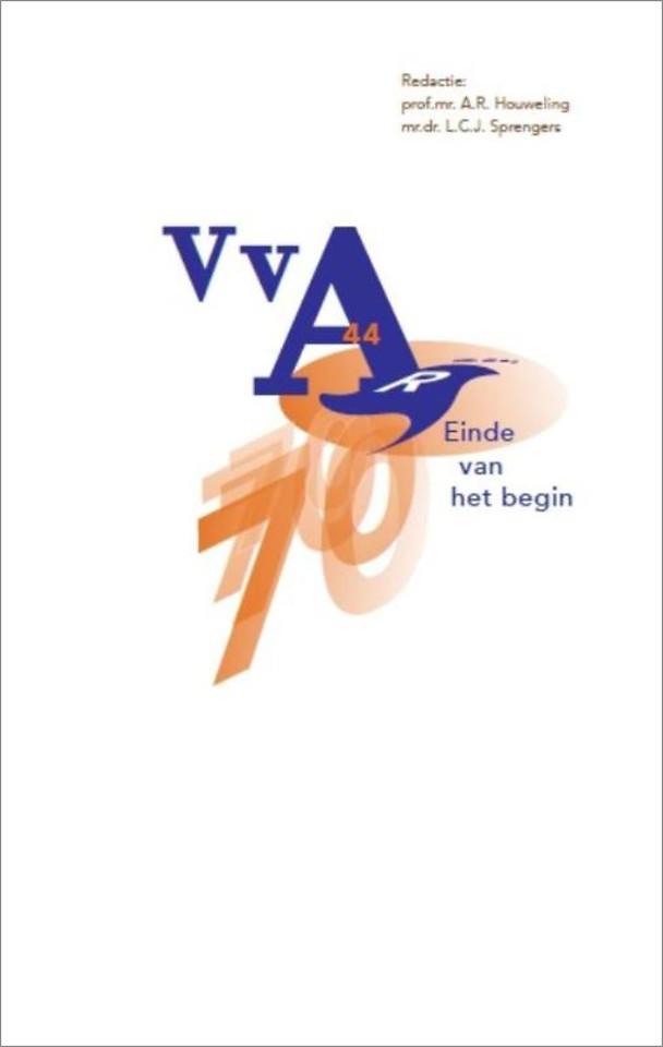 70 jaar VvA: einde van het begin