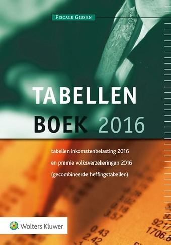 Tabellenboek 2016