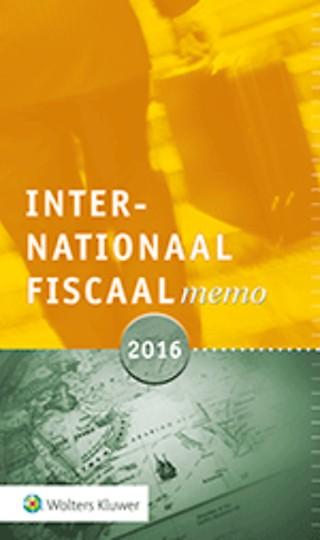 Internationaal Fiscaal Memo 2016