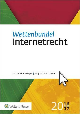 Wettenbundel Internetrecht 2016/2017