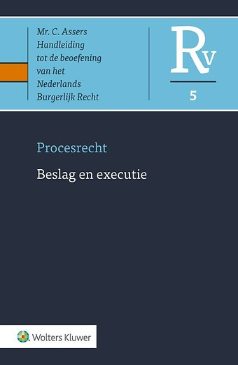 Asser Procesrecht 5 Beslag en executie