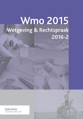 Wmo 2015 Wetgeving & Rechtspraak 2016-2
